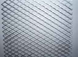 Expanded metal mesh